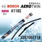 シトロエン DS3 BOSCH エアロワイパーブレード 3397007118 600/400mm