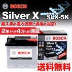 フィアット 500 BOSCH SLX-5K 欧州車用高性能シルバーバッテリー 54A 保証付 送料無料