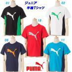半袖Tシャツ/プーマ(PUMA)ジュニア ピンホールニット(591898)