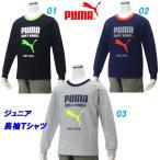 長袖Tシャツ/プーマ(PUMA)ジュニア ビッグキャットロゴ(837812)