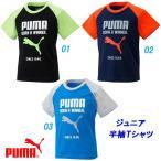 半袖Tシャツ/プーマ(PUMA)ジュニア FUN コットン半袖Tシャツ(837815)