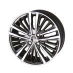 共豊 シャレン XR-75 モノブロック /ダイアモンドフィニッシュXブラック/ハンコック165/45R16か165/40R16選択可能/タイヤ・ホイール4本SET 4H/100