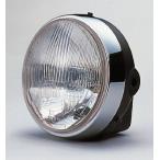 【期間限定価格】MOTOモト180Φヘッドライト ブラックボディ CIBIE(シビエ)