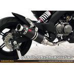 Z125 PRO(プロ)BR125H DDRタイプマフラー GTタイプ ブラックカーボンバージョン フルエキゾースト ASAKURA(浅倉商事)