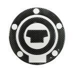 FJR1300 ヤマハ車5穴汎用 タンクキャップカバー2 カーボンルック MAD MAX(マッドマックス)