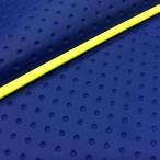 ハンターカブ(CT110) 張替タイプ 国産シートカバー フルエンボスブルー/黄色パイピング GRONDEMENT(グロンドマン)