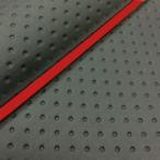 ハンターカブ(CT110) 張替タイプ 国産シートカバー フルエンボスブラック/赤パイピング GRONDEMENT(グロンドマン)