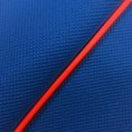 ハンターカブ(CT110) 張替タイプ 国産シートカバー スベラーヌブルー/赤パイピング GRONDEMENT(グロンドマン)