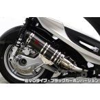 シグナスX SR(CYGNUS-X SR)EBJ-SEA5J DDRタイプマフラー EVOタイプ ブラックカーボンバージョン ASAKURA(浅倉商事)
