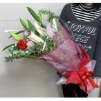 送料無料(一部地域を除く)店長におまかせ花束DXサイズ【生花花束】(※5/6〜5/9はお届け出来ません)