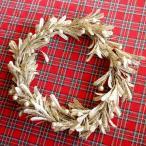 リース クリスマスリース リース材料 エレガント・ゴールドリース  直径約35cm