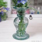 ショッピング花瓶 フラワーベース 花瓶 リサイクルガラス エレガントガラスフラワーベース クリア