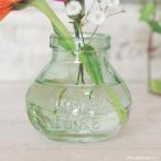 フラワーベース 花瓶 ガラス クラシックミニガラスベース ラウンド