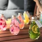 ポチャッとした雫ガラスのハーバリウム ギフト 結婚祝い インテリア装飾に ケース付