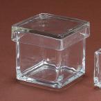 Yahoo!はなどんやアソシエガラスの宝石箱L GL001408 01   花器 花瓶 ガラス花器