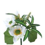 Yahoo!はなどんやアソシエ大特価  造花 YDM 仏壇用ロータスブッシュ  FP-0737-W 造花ギフト 仏花