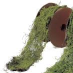 Yahoo!はなどんやアソシエ造花 アスカ モスリボン 0 A-15157-18 造花葉物、フェイクグリーン 苔、モス