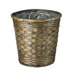 てづくり 染竹プランターK10号 65-710 01  ポット 鉢 鉢カバー
