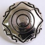 NBK コンチョボタン 20個入 SGM-CON9-20 01  ソーイング資材 ボタン