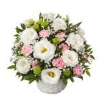 お供えアレンジメント-118025  (お供え・ご命日用・枕花用アレンジメント)花キューピット商品