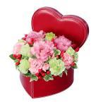 アレンジメント - 511756(ハート型器のアレンジメント)通年 花キューピット商品