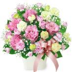 6月のおすすめ - 511992(トルコキキョウのリボンアレンジメント)花キューピット商品