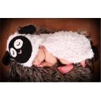 ベビー コスチューム 出産祝い 寝相アートフード付き羊