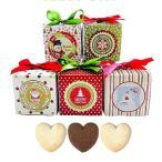 クリスマス お菓子のプチギフト「クリスマスハッピーキューブCC(クッキー)」イベント 結婚式 業務用にも HZW-CHC01