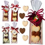 クリスマスのお菓子 クッキー プチギフト 「ハッピーハートクリスマスHH」業務用にも HZW-HHC01
