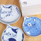 ショッピング皿 波佐見焼 neco皿 5枚セット 木箱入り 取皿 プレート(  食器 かわいい ネコ 猫 皿 雑貨 通販 )