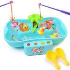 釣りゲーム おもちゃ (14点セット) 魚釣り ゲーム 簡単操作で室内や室外、お風呂で遊べる 魚釣りおもちゃ 釣りげーむ 釣りおもちゃ さか