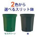 2色から選べる 8号スリット鉢(ロングタイプ)直径24cm CSM-240L