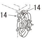 ニスモ リアアクスルブッシュ アッパー 180SX RS13 品番: 55157-RS521 送料区分【その1】