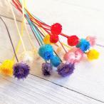 【大地農園 2019年新作】ハッピーフラワー 6色アソート ハーバリウム  髪飾り 花材 リース キット ドライフラワー