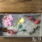 【プリザーブド・ドライフラワー】厳選花材アソート (9) ハーバリウム レジン 髪飾り 花材