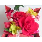 Yahoo!花雑貨 Hanakoプリザーブドフラワー ギフト 誕生日 プレゼント 誕生祝い お祝い BOX ボックス アレンジ ブリザーブド バースデー ケース入り 赤薔薇
