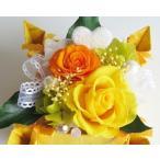 Yahoo!花雑貨 Hanakoプリザーブドフラワー ギフト 誕生日 プレゼント 誕生祝い お祝い BOX ボックス アレンジ ブリザーブド バースデー ケース入り オレンジ
