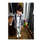 キッズスーツ ファッション 花柄 子供服 男の子 ハイセンス 着心地よい スプリング レジャー カジュアル カラフル キッズスーツ