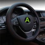 ステアリングカバー ハンドルカバー レザー キルティング   ハンドルカバー 軽自動車 普通車 兼用 本革