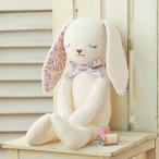 Yahoo!手芸の山久ヤフー店ハマナカ H434-024 やわらか手触りのウサギ ぬいぐるみ手芸キット オーガニックコットングッドナイト