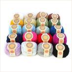 アクリル毛糸 カフェキッチン 20色各1玉セット アクリルたわし 並太 まとめ買い用 日本製 ダルマ毛糸