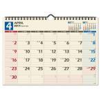 【ポイント5倍】東急ハンズ 【2017年4月始まり・壁掛】 日本能率協会 NOLTY カレンダー壁掛け36 U136