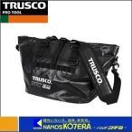 TRUSCO 防水ターポリントートバッグ Lサイズ ブラック TTBLBK