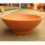 テラコッタ鉢 DEROMA(デローマ社) ローボール 19 直径:約46cm 高さ:約19cm (1035606) 【送料別】【通常配送】