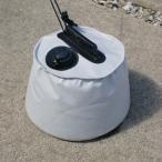 屋外用マルチウエイト6L グレー 直径:約25cm×高さ:約20cm (9647210) 【送料別】【通常配送】