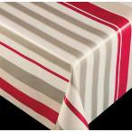 新規 テーブルクロス ブリリアントシリーズ ストライプ レッド 60767 幅:140cm 10cm単位切売 商品番号:9699732 【送料別】【通常配送】