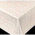 新規 テーブルクロス ブリリアントシリーズ オーナメント ベージュ  60821 幅:140cm 10cm単位切売 商品番号:9699767 【送料別】【通常配送】