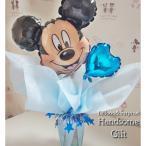 ミッキーマウス バルーン電報 誕生日 お祝い バルーンギフト ディズニー キャラクター電報 お菓子 バルーンポット ラブ・ミッキー