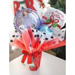 【送料無料】バルーンポット プリンセスソフィア クリスマスVer【クリスマスギフト バルーンギフト あすつく可能】