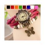 腕時計 レディース 時計 アンティーク風腕時計全8色